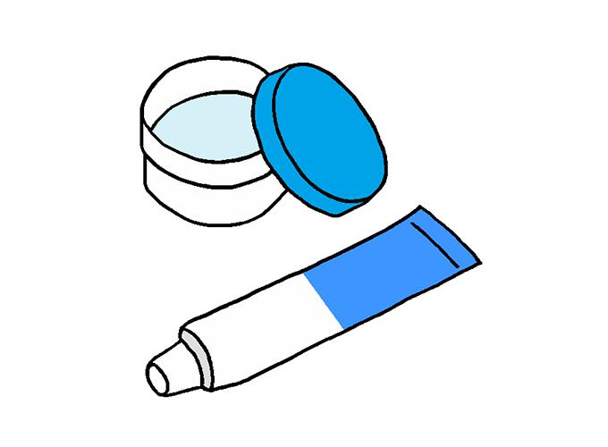 乳児湿疹に保湿薬を使うのは良いのか