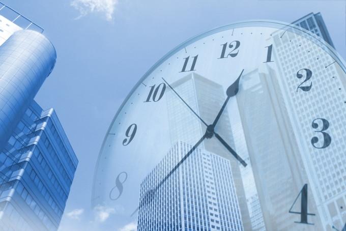 時間軸のイメージ