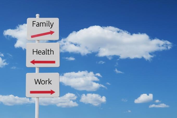 家族や仕事、健康など色々なことを同時にしなければならない