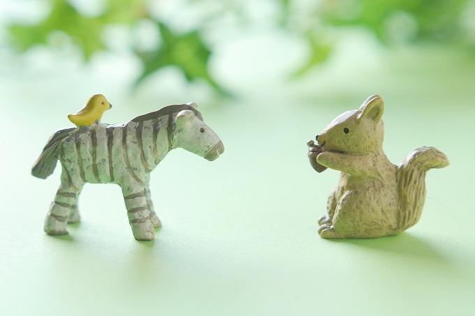 話をしている動物たち